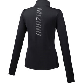 Mizuno Vortex Warmalite Half-Zip LS Women, black